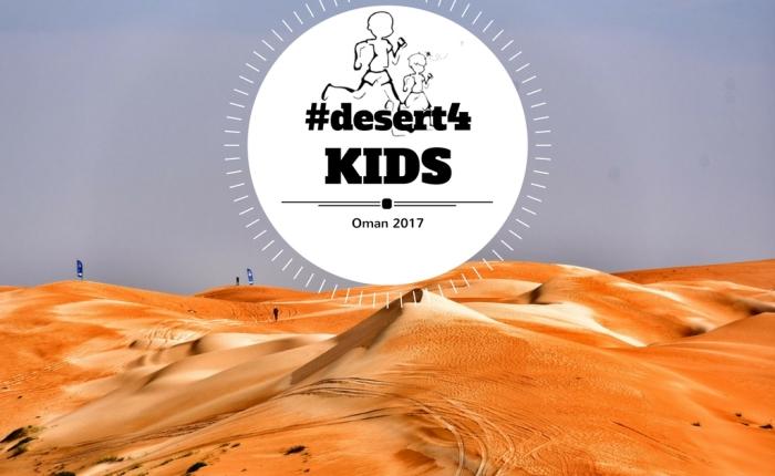 #desert4KIDS in Oman per ibambini